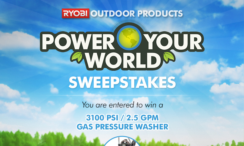 Power Your World Sweepstakes